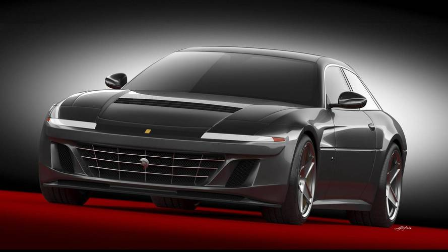 Ares Design Project Pony Is A Ferrari GTC4Lusso With Retro Vibes