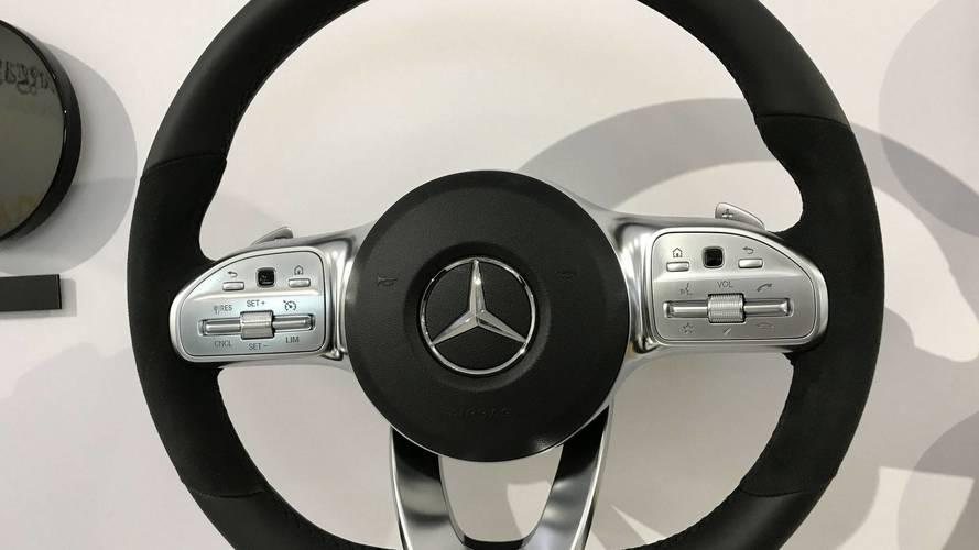 Voici le nouveau volant de la Mercedes Classe A