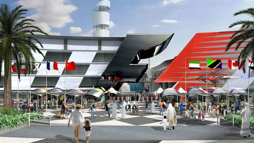 Global crisis halts F1 theme park project