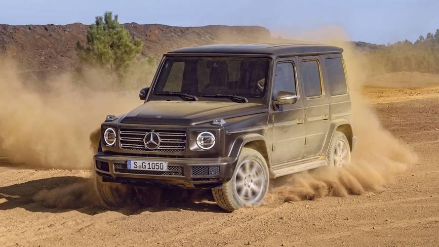 Le Mercedes-Benz Classe G révélé