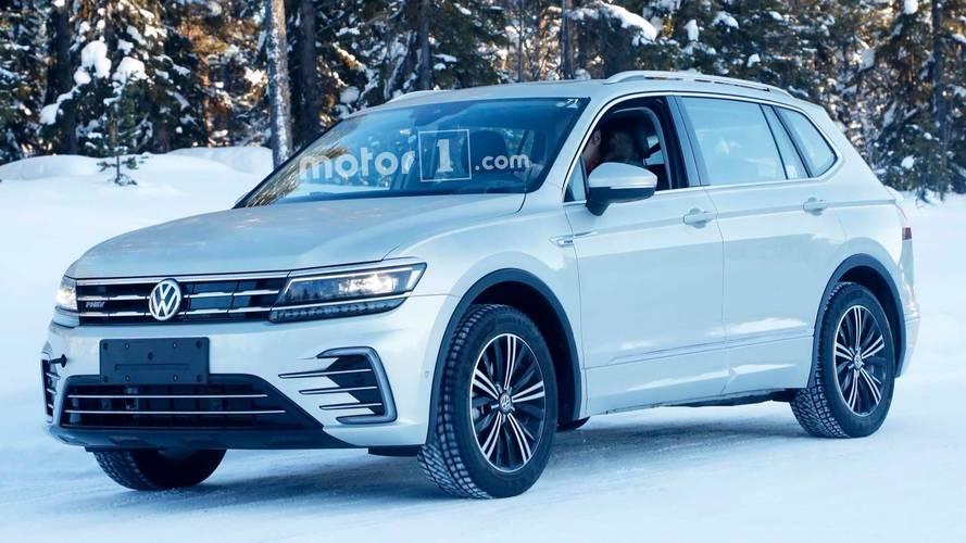 VW Tiguan Plug-in Hibrit Casus Fotoğrafları