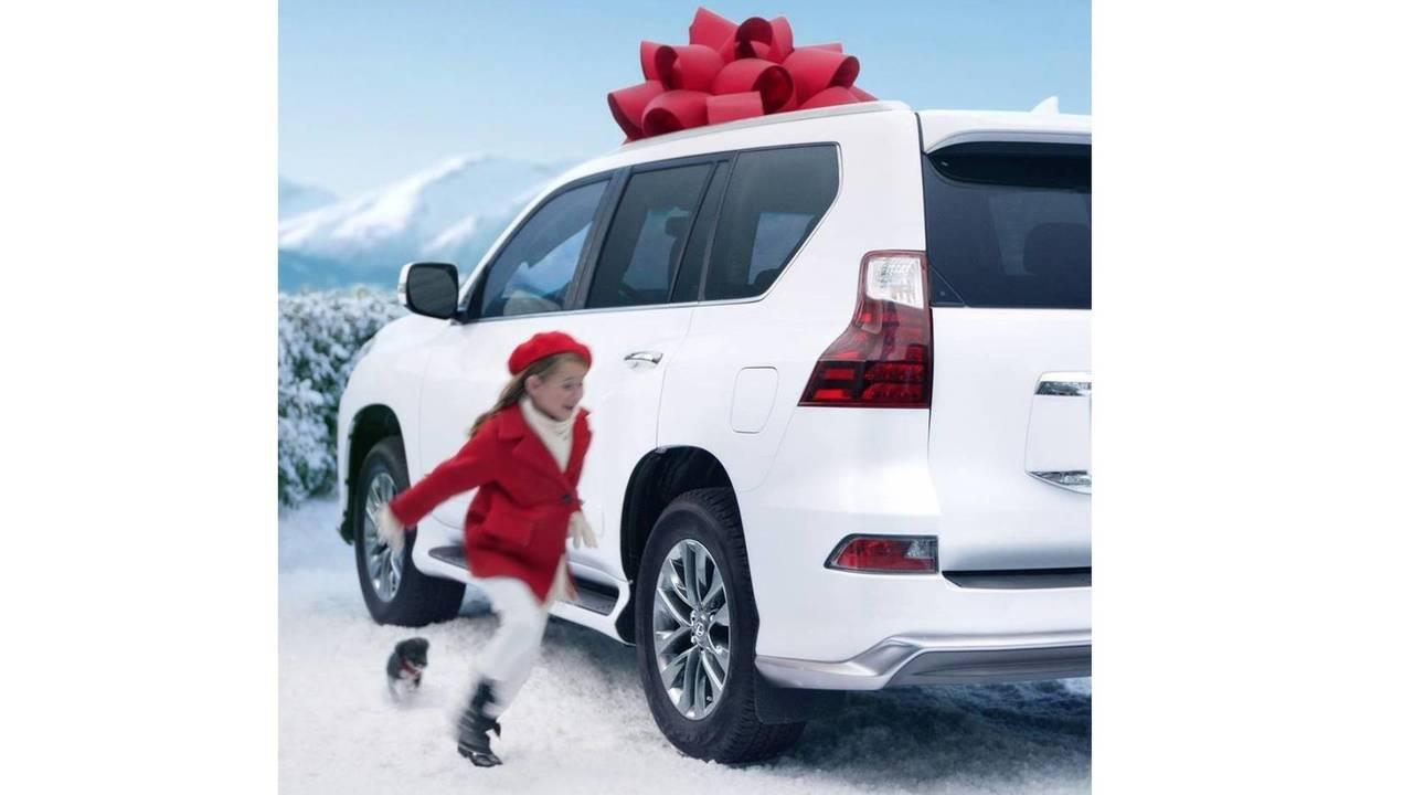 Lexus karácsonyi üdvözlet