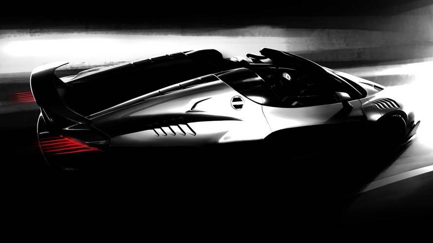 Italdesign yeni süper otomobilini gösteriyor