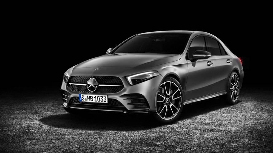Yeni Mercedes A-Serisi Sedan böyle görünebilir