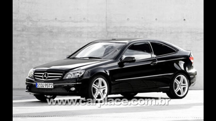 Mercedes apresenta novo Coupe CLC 2009 fabricado no Brasil