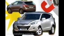 Novo Hyundai Tucson 2010 - Suposta imagem da nova geração do utilitário vaza na internet