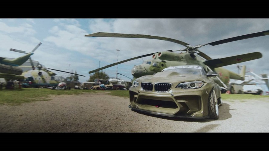 820 hp BMW 2 Series drift car was inspired by the Eurofighter