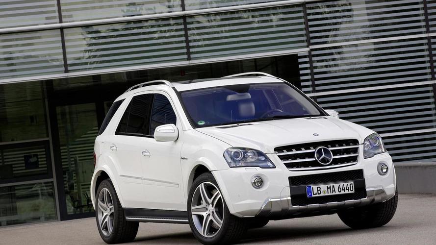 2011 Mercedes ML 63 AMG gets minor exterior updates