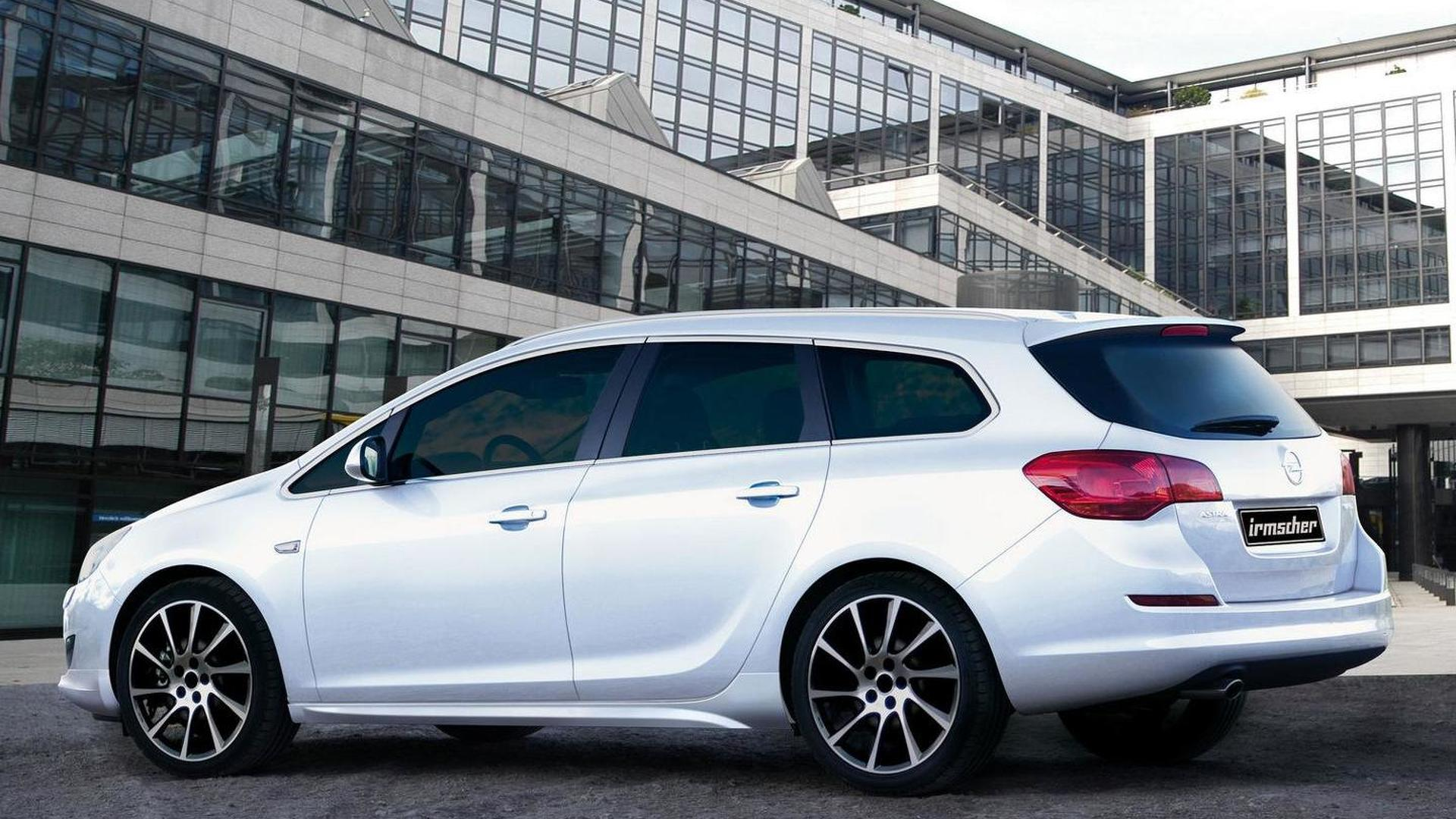 Astra sports tourer - Opel Astra Sport Tourer By Irmscher