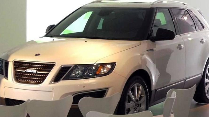 2012 Saab 9-4X caught in pre-production trim