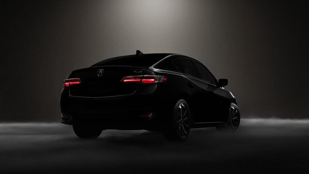 2016 Acura ILX teaser