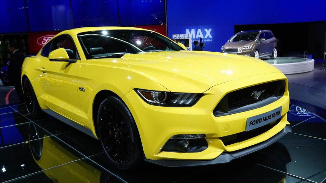 Euro-spec Ford Mustang at Paris Motor Show