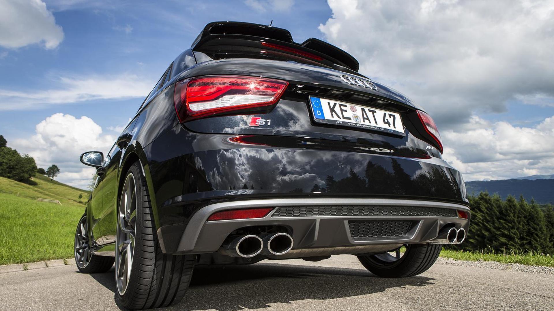 Чёрная Audi S1. Тюнинг от ABT Sportsline