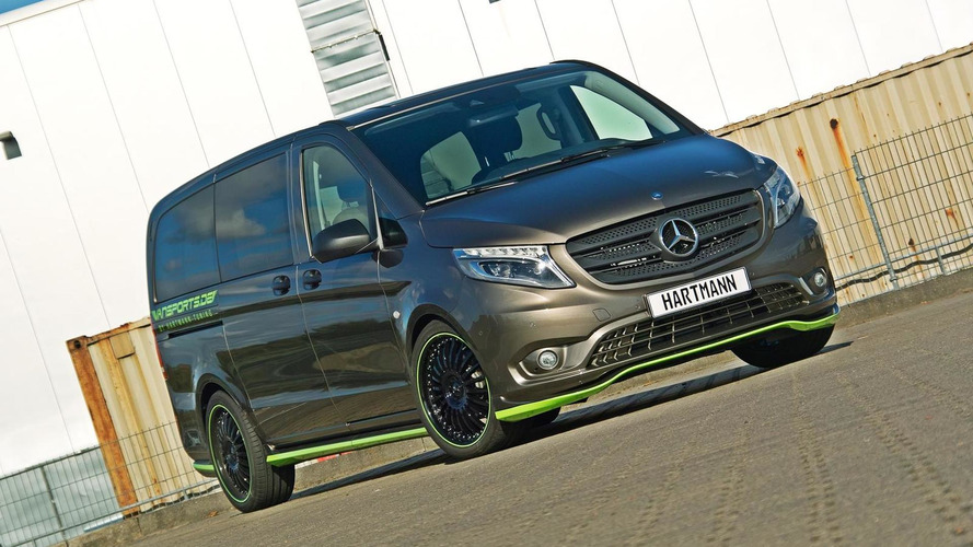 Hartmann does its thing on the Mercedes-Benz Vito