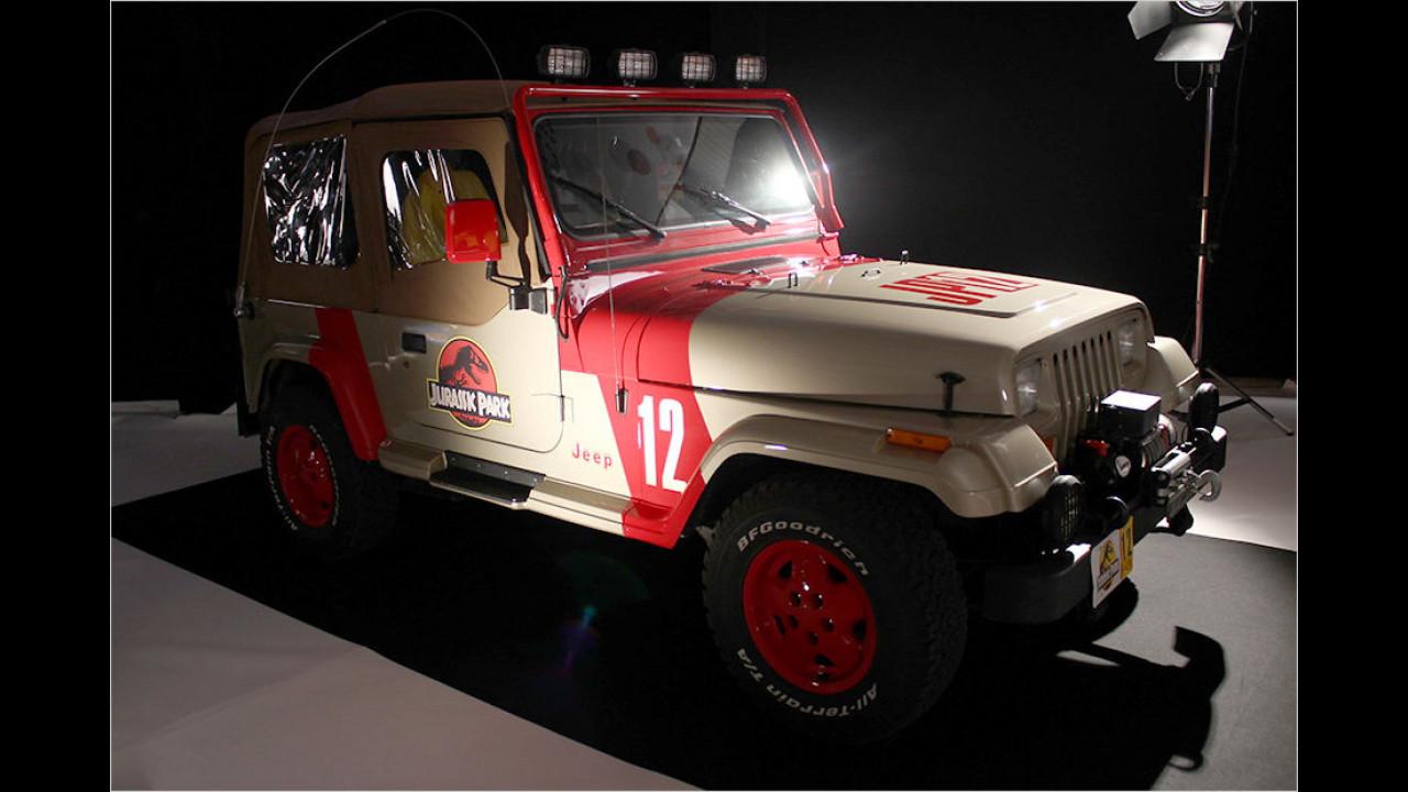 Jeep Wrangler Sahara: Jurassic Park (1993)