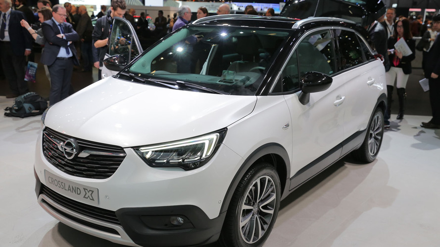 Crossland X arrives in Geneva to celebrate the PSA-Vauxhall marriage