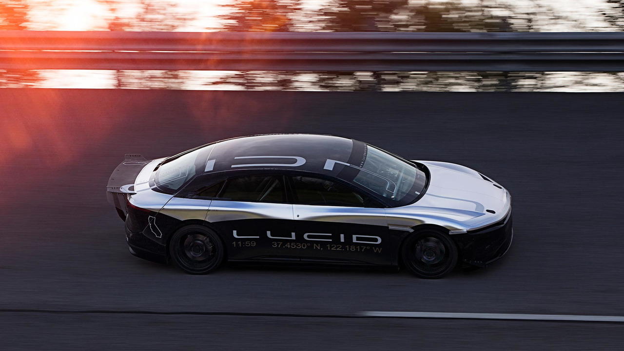 Lucid Air Alpha Speed Car