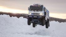 Kamaz rally truck