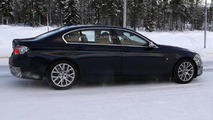 2014 BMW 5-Series facelift spied showing modest revisions