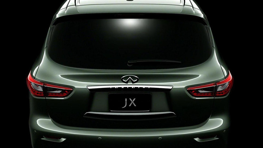Infiniti JX concept teaser #5 released