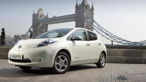 Nissan Leaf in London 07.07.2011