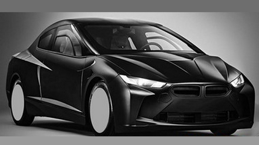 BMW says the leaked patent concept designs show a research vehicle, won't be produced