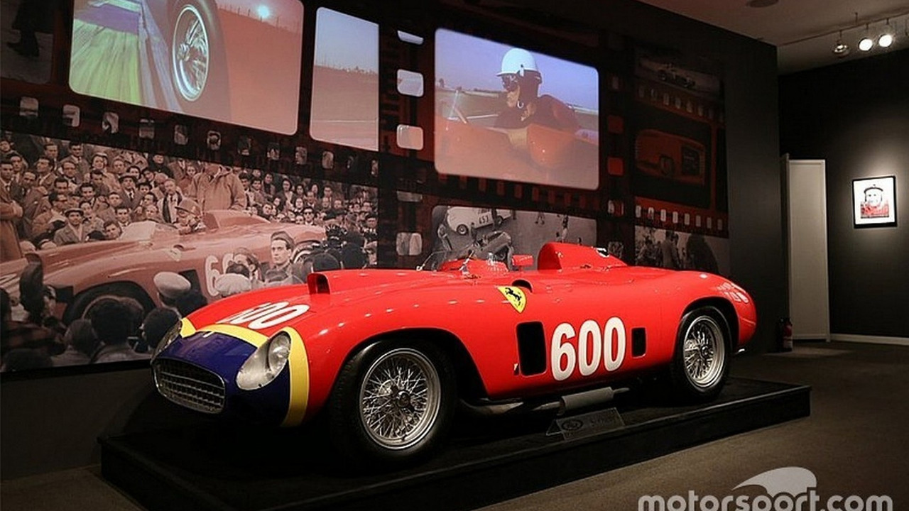 1956 Ferrari 290 MM driven by Juan Manuel Fangio