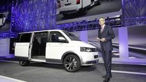 Volkswagen Multivan Alltrack concept live in Geneva