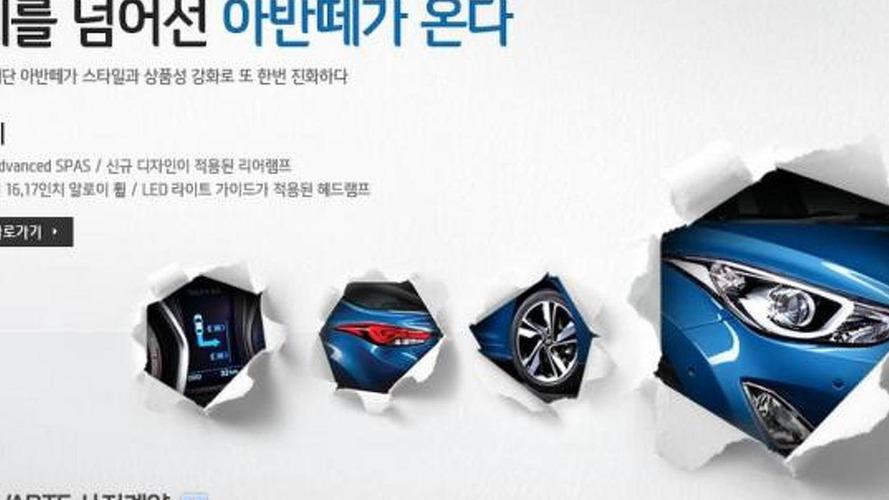2014 Hyundai Avante / Elantra teased