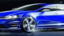2014 Volkswagen Golf R hits the track [video]
