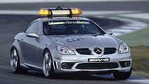 New MB SLK 55 AMG is official FIA Formula 1 Safety Car