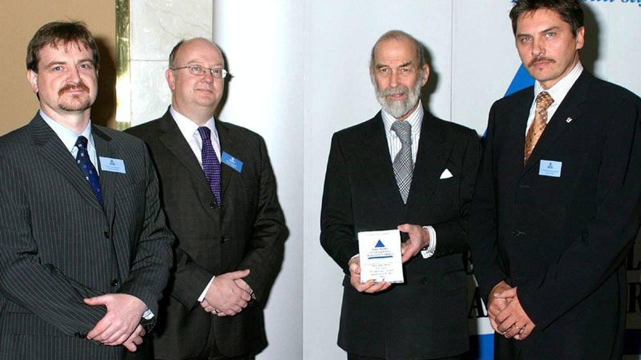 HRH Prince Michael of Kent, Dr. Rodolfo Schoeneburg, Roland Bachmann