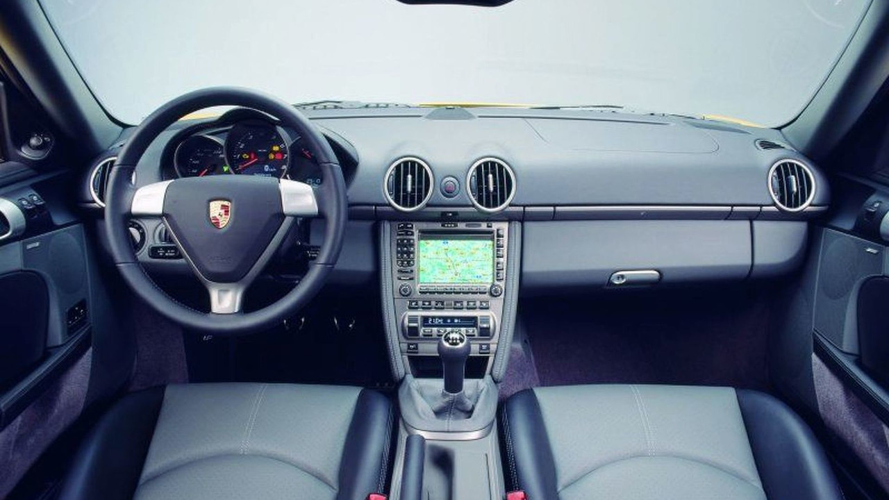 New Porsche Cayman Sports Coupe Interior