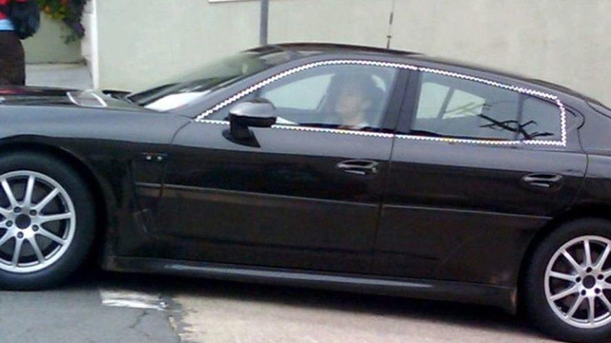 Porsche Panamera Spied in San Francisco