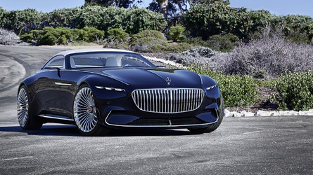 Vision Mercedes-Maybach 6 Cabriolet Is A Gorgeous Top-Down EV