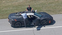 Mid-Engined Corvette Advanced Prototype Spy Photos