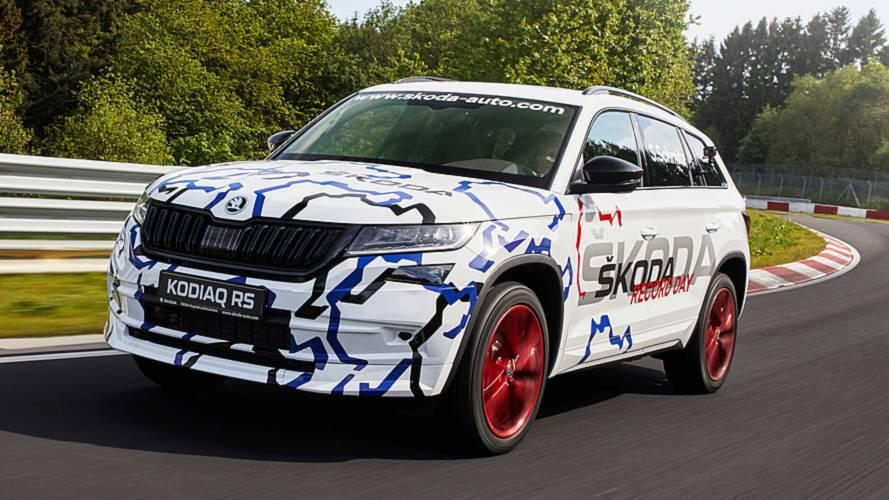 Skoda Kodiaq RS, è record al Nurburgring