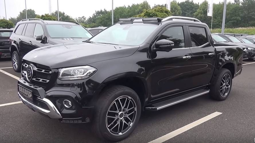 Mercedes X-Class By Brabus Detailed In Extensive Video