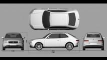 Designer recria o clássico Fiat 127,