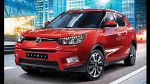 Na trilha da Hyundai-Kia, SsangYong quer entrar nos EUA com Tivoli e novo Rexton