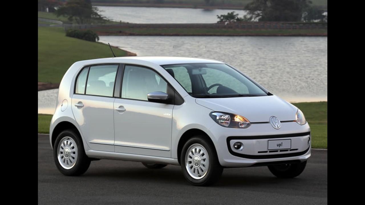 LatinNCAP: VW Up! será testado novamente quando chegar às lojas