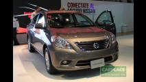 Flagra: Nissan Sunny 2013 rodando em testes no Brasil