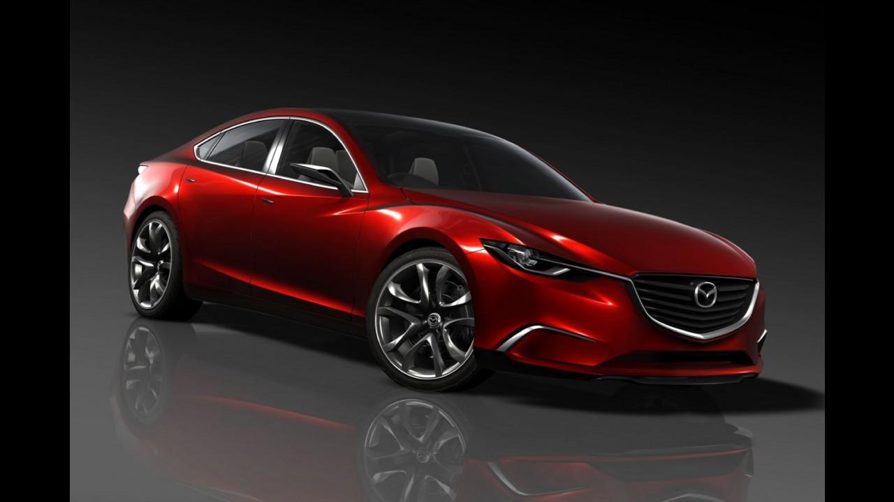 Novo Mazda6 poderá ter versão Coupé - Lançamento está previsto para 2014