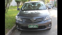 Garagem CARPLACE: Dirigindo o Toyota Corolla na cidade e na estrada - Veja o consumo