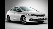 Honda Civic Sedan ganha novo visual na Europa