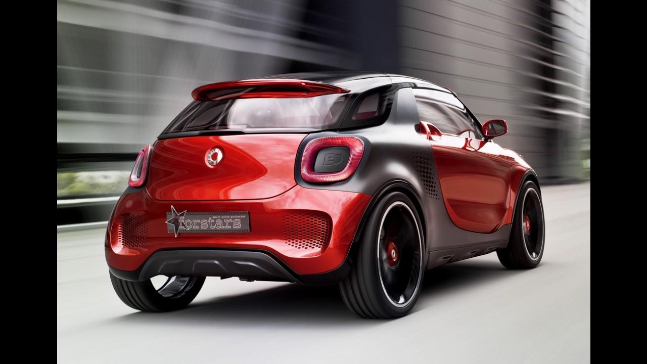 Smart ForTwo originará micro SUV e modelo de quatro portas na próxima geração