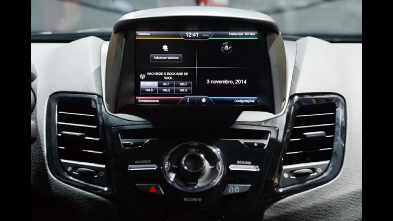New Fiesta Sedan ganha versão com teto solar e central SYNC com GPS
