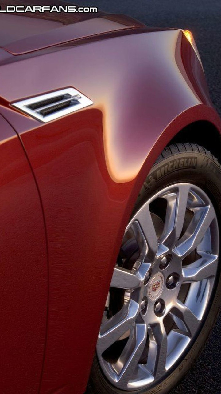 2008 Cadillac CTS Unveiled at NAIAS