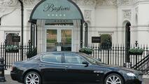 Maserati Quattroporte at Baglioni Hotel London