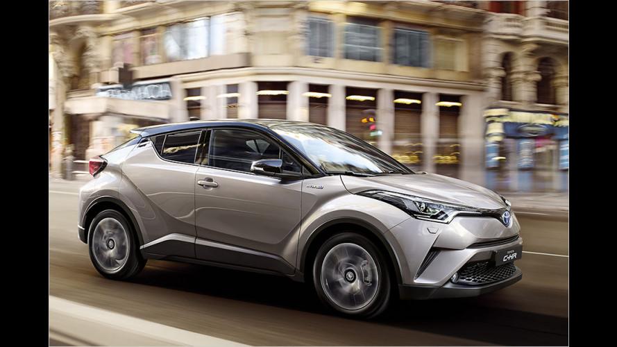 Toyota C-HR: Alles zum neuen Coupé-SUV
